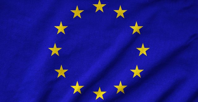 Ruffled EU Flag