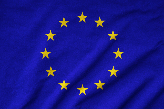 Ruffled EU Flag